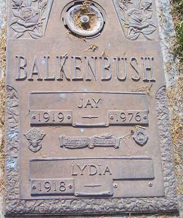 BALKENBUSH, JAY - Maricopa County, Arizona | JAY BALKENBUSH - Arizona Gravestone Photos