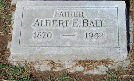 BALL, ALBERT E - Maricopa County, Arizona | ALBERT E BALL - Arizona Gravestone Photos