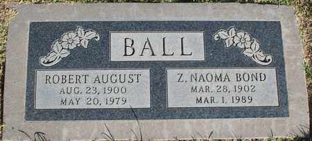 BALL, ROBERT AUGUST - Maricopa County, Arizona | ROBERT AUGUST BALL - Arizona Gravestone Photos