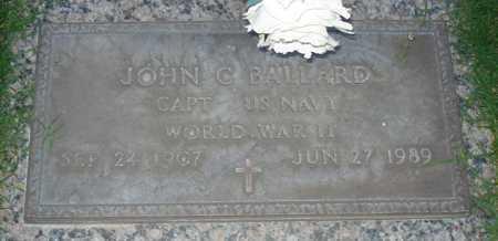 BALLARD, JOHN C. - Maricopa County, Arizona | JOHN C. BALLARD - Arizona Gravestone Photos