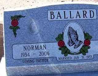 BALLARD, NORMAN J. - Maricopa County, Arizona | NORMAN J. BALLARD - Arizona Gravestone Photos