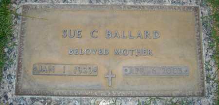 BALLARD, SUE C. - Maricopa County, Arizona | SUE C. BALLARD - Arizona Gravestone Photos