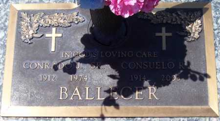 BALLECER, CONRADO J., SR. - Maricopa County, Arizona | CONRADO J., SR. BALLECER - Arizona Gravestone Photos
