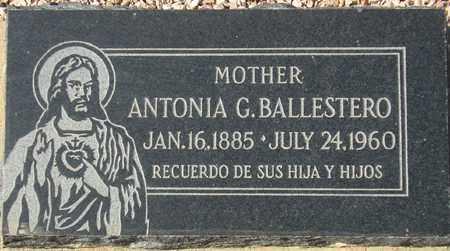 BALLESTERO, ANTONIA G. - Maricopa County, Arizona   ANTONIA G. BALLESTERO - Arizona Gravestone Photos