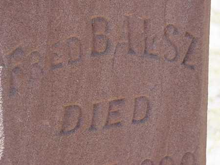 BALSZ, FRED, JR - Maricopa County, Arizona | FRED, JR BALSZ - Arizona Gravestone Photos