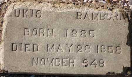 BAMBORIS, LUKIS - Maricopa County, Arizona | LUKIS BAMBORIS - Arizona Gravestone Photos