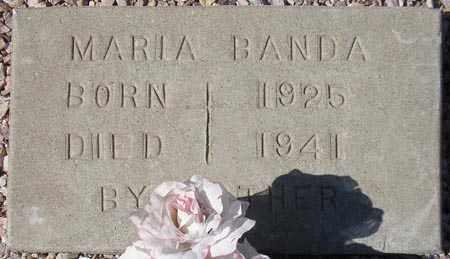 BANDA, MARIA - Maricopa County, Arizona   MARIA BANDA - Arizona Gravestone Photos