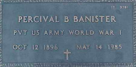 BANISTER, PERCIVAL B. - Maricopa County, Arizona | PERCIVAL B. BANISTER - Arizona Gravestone Photos