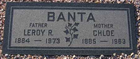 BANTA, LEROY R. - Maricopa County, Arizona | LEROY R. BANTA - Arizona Gravestone Photos