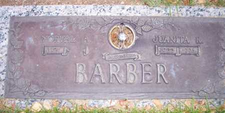 BARBER, NORVAL A. - Maricopa County, Arizona | NORVAL A. BARBER - Arizona Gravestone Photos
