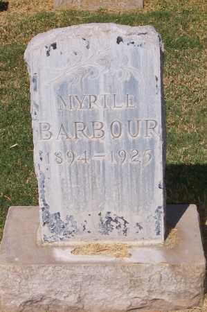 BARBOUR, MYRTLE - Maricopa County, Arizona | MYRTLE BARBOUR - Arizona Gravestone Photos