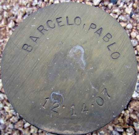 BARCELO, PABLO - Maricopa County, Arizona | PABLO BARCELO - Arizona Gravestone Photos