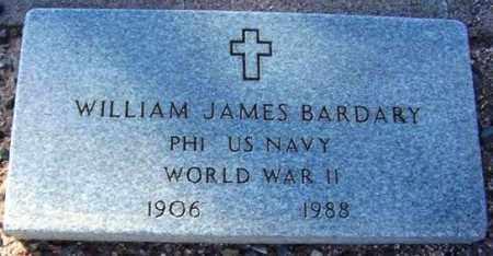 BARDARY, WILLIAM JAMES - Maricopa County, Arizona | WILLIAM JAMES BARDARY - Arizona Gravestone Photos