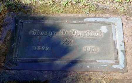 BARFOOT, GEORGE H. - Maricopa County, Arizona | GEORGE H. BARFOOT - Arizona Gravestone Photos