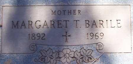 BARILE, MARGARET T. - Maricopa County, Arizona | MARGARET T. BARILE - Arizona Gravestone Photos