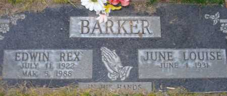 BARKER, JUNE LOUISE - Maricopa County, Arizona | JUNE LOUISE BARKER - Arizona Gravestone Photos