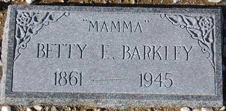 BARKLEY, BETTY E. - Maricopa County, Arizona   BETTY E. BARKLEY - Arizona Gravestone Photos
