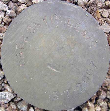 BARKONYIN, LEWIS - Maricopa County, Arizona   LEWIS BARKONYIN - Arizona Gravestone Photos
