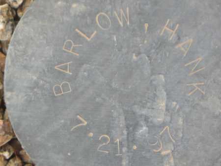 BARLOW, HANK - Maricopa County, Arizona   HANK BARLOW - Arizona Gravestone Photos