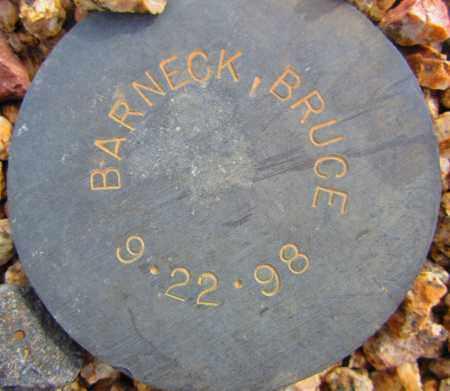 BARNECK, BRUCE - Maricopa County, Arizona | BRUCE BARNECK - Arizona Gravestone Photos