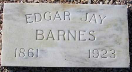 BARNES, EDGAR JAY - Maricopa County, Arizona   EDGAR JAY BARNES - Arizona Gravestone Photos