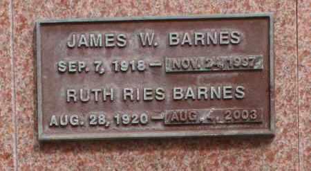 BARNES, JAMES W. - Maricopa County, Arizona | JAMES W. BARNES - Arizona Gravestone Photos