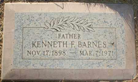 BARNES, KENNETH F - Maricopa County, Arizona | KENNETH F BARNES - Arizona Gravestone Photos