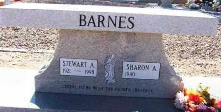 BARNES, STEWART ALDRICH - Maricopa County, Arizona   STEWART ALDRICH BARNES - Arizona Gravestone Photos