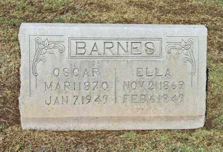 BARNES, WILLIAM OSCAR - Maricopa County, Arizona | WILLIAM OSCAR BARNES - Arizona Gravestone Photos