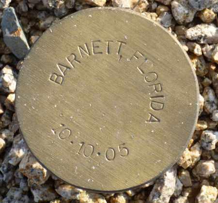 BARNETT, FLORIDA - Maricopa County, Arizona | FLORIDA BARNETT - Arizona Gravestone Photos