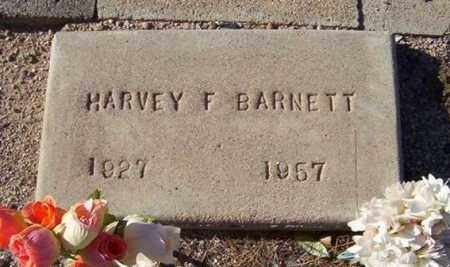 BARNETT, HARVEY F. - Maricopa County, Arizona | HARVEY F. BARNETT - Arizona Gravestone Photos