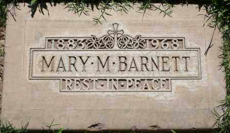 BARNETT, MARY M - Maricopa County, Arizona | MARY M BARNETT - Arizona Gravestone Photos