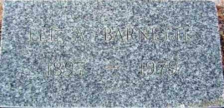 BARNETTE, LEE AUBREY - Maricopa County, Arizona | LEE AUBREY BARNETTE - Arizona Gravestone Photos