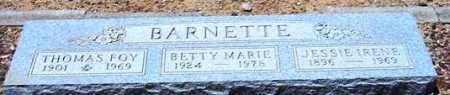 ABRAHMS BARNETTE, JESSIE IRENE - Maricopa County, Arizona | JESSIE IRENE ABRAHMS BARNETTE - Arizona Gravestone Photos
