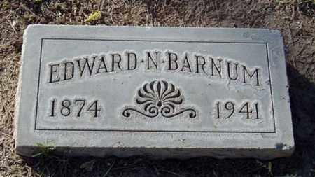BARNUM, EDWARD NERI - Maricopa County, Arizona | EDWARD NERI BARNUM - Arizona Gravestone Photos