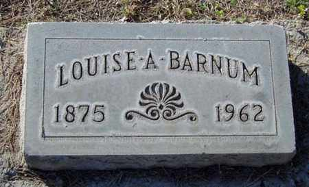 ABRAMS BARNUM, LOUISE - Maricopa County, Arizona | LOUISE ABRAMS BARNUM - Arizona Gravestone Photos
