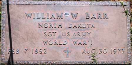 BARR, WILLIAM W - Maricopa County, Arizona | WILLIAM W BARR - Arizona Gravestone Photos