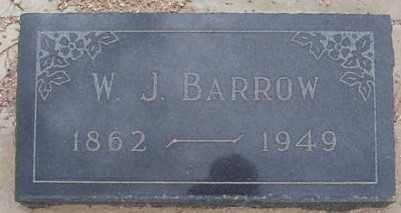 BARROW, WILLIAM J. - Maricopa County, Arizona | WILLIAM J. BARROW - Arizona Gravestone Photos
