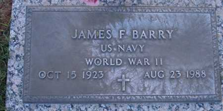 BARRY, JAMES F. - Maricopa County, Arizona | JAMES F. BARRY - Arizona Gravestone Photos
