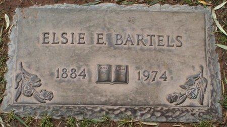 BARTELS, ELSIE E - Maricopa County, Arizona | ELSIE E BARTELS - Arizona Gravestone Photos