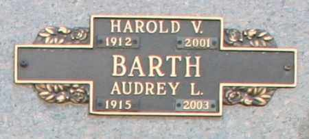 BARTH, AUDREY L - Maricopa County, Arizona | AUDREY L BARTH - Arizona Gravestone Photos