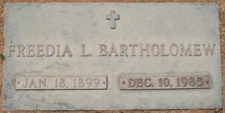 BARTHOLOMEW, FREEDIA L. - Maricopa County, Arizona | FREEDIA L. BARTHOLOMEW - Arizona Gravestone Photos