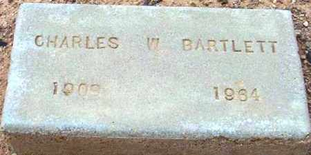 BARTLETT, CHARLES W. - Maricopa County, Arizona | CHARLES W. BARTLETT - Arizona Gravestone Photos