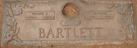 BARTLETT, MINNIE - Maricopa County, Arizona | MINNIE BARTLETT - Arizona Gravestone Photos