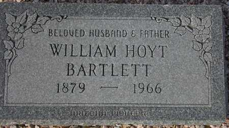 BARTLETT, WILLIAM HOYT - Maricopa County, Arizona   WILLIAM HOYT BARTLETT - Arizona Gravestone Photos