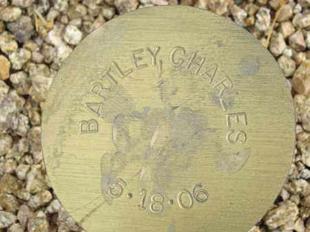 BARTLEY, CHARLES - Maricopa County, Arizona | CHARLES BARTLEY - Arizona Gravestone Photos