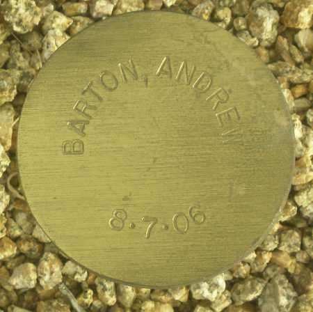 BARTON, ANDREW - Maricopa County, Arizona   ANDREW BARTON - Arizona Gravestone Photos