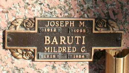 BARUTI, MILDRED G - Maricopa County, Arizona | MILDRED G BARUTI - Arizona Gravestone Photos