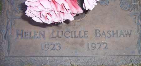 BASHAW, HELEN LUCILLE - Maricopa County, Arizona | HELEN LUCILLE BASHAW - Arizona Gravestone Photos