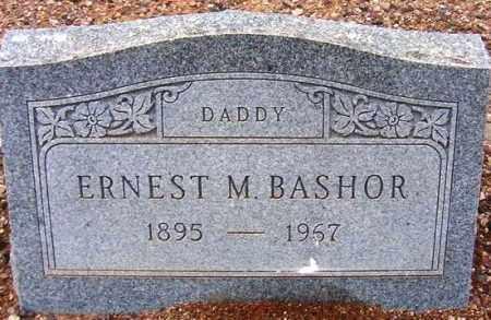BASHOR, ERNEST M. - Maricopa County, Arizona | ERNEST M. BASHOR - Arizona Gravestone Photos